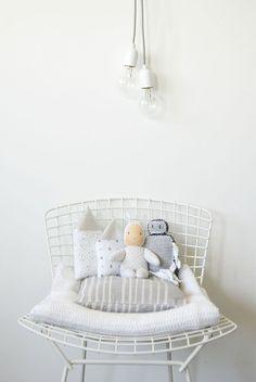 decoracion infantil casas y nubes de plata Decora la Habitación del Bebé con Nubes de Plata