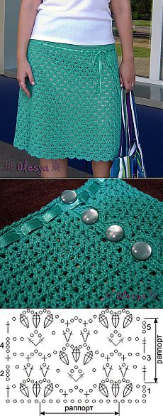 bella falda tutorial-esquema-… See other ideas and pictures from the category menu…. Faneks healthy and active life ideas Crochet Diagram, Filet Crochet, Crochet Motif, Crochet Shawl, Crochet Yarn, Knit Crochet, Crochet Skirts, Crochet Clothes, Crochet Headband Pattern