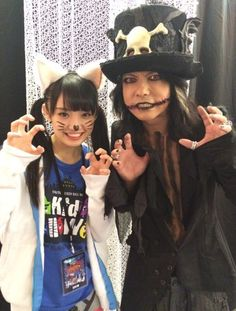 #HYDE with Sakura Nao(Team Syachihoko) #VAMPS #VAMPSHalloweenParty2015 MAKUHARI - Day 1 (October 23, 2015)