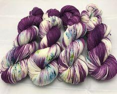 Your place to buy and sell all things handmade Yarn Thread, Yarn Stash, Crochet Yarn, Knitting Yarn, Yarn Inspiration, Spinning Yarn, Sock Yarn, Hand Dyed Yarn, Yarn Colors