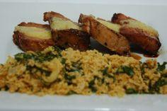 Lombo ao Chico Mineiro e Farofa de couve - Cozinha Mineira | A Casa Encantada