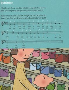 #Liedje Jules : Schilder Preschool Kindergarten, Preschool Ideas, Kandinsky, Happy Kids, Van Gogh, Museum, Classroom, Songs, Education