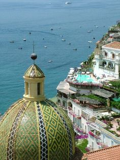 Positano, Italy.   Color photography by Donna Corless.