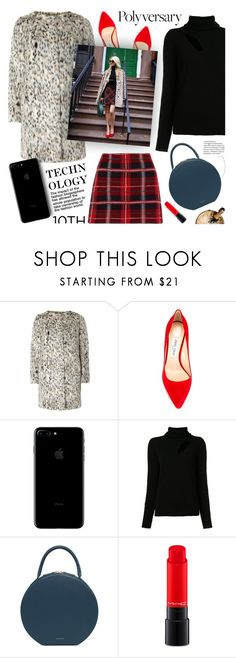 """favorite trend from the last 10 years #2"" by jesuisunlapin ❤ liked on Polyvore featuring Dorothy Perkins, Jimmy Choo, A.L.C., Miu Miu, Mansur Gavriel and MAC Cosmetics"