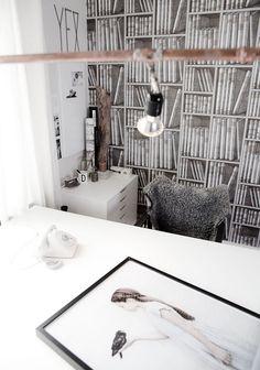 Lace & Tea » Home Inspiration: Daniella's Workspace