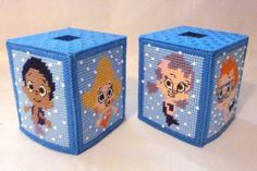 Free Plastic Canvas Tissue Box Patterns | #