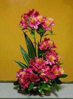 Peruvian Lilies arrangement