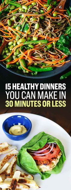 15 Healthy Dinner Recipes You Can Make In Under 30 Minutes