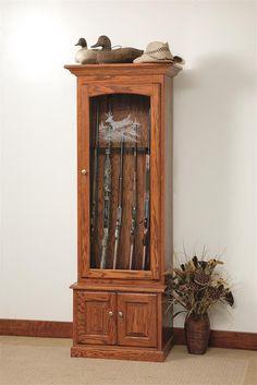 Genial Amish Gun Cabinet Gun Cabinets, Gun Racks, Cabinet Ideas, Shotguns,  Firearms,