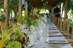 Outdoor Pergola, Summer Wedding, Vineyard, Wedding Flowers, Table Settings, Table Decorations, Natural, House, Image