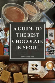 Looking to fill gaps in your Seoul itinerary? Try adding a chocolate shop in Seoul to the mix! This is the most comprehensive guide out there detailing where to eat the best chocolates in Seoul, South Korea. South Korea Travel, Asia Travel, Travel Tips, Travel Destinations, Travel Ideas, Travel Goals, Travel Inspiration, Travel Checklist, Budget Travel