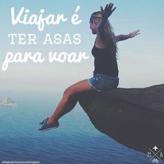 Quotes para quem ama viajar <3  Tem mais aqui: www.maladeaventuras.com  #viajar #frases #travel #quotes #pensamentos #adventure #aventura