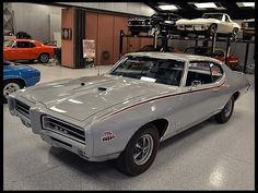 F118 1969 Pontiac GTO Judge   Photo 1