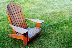 projeto gratuito no blog: Ah! E se falando em madeira...: +1 Cadeira Adirondack