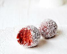 Red velvet truffles Red Velvet Truffles, Instagram