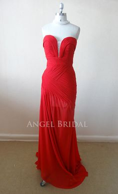 Sweetheart  Rose Red prom dress, short prom dress, homecoming dresses, party dresses, bridesmaid gowns on Etsy, $165.00