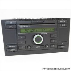 Ford Radio 6000 CD RDS!  Bei uns im Shop!