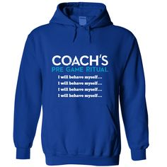 Coach Pre Game Ritual