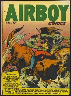 Comic Book Cover For Airboy Comics v9 4 [99]