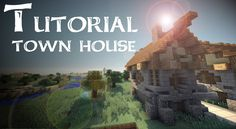 Minecraft Tutorial: Medieval town house (Frank)