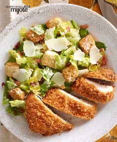 Salade César au poulet #recette