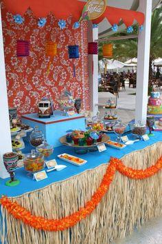 Luau, Hawaiian, Tiki Birthday Party Ideas | Photo 3 of 8 | Catch My Party
