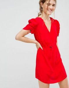 ASOS Mini Tea Dress with Elasticated Waist
