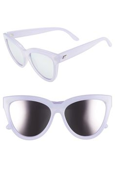 Le Specs 'Liar Liar' 57mm Sunglasses available at #Nordstrom