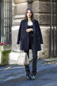 Street Style London Fashion Week Street Fall 2014 - London Street Style