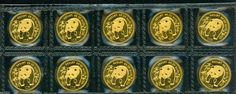 """#New post #1986 SEALED 10Y 1/10 OZ. GOLD CHINESE PANDA 10 COINS SHEET CHINA !  http://i.ebayimg.com/images/g/UN4AAOxyLVZRYths/s-l1600.jpg      Item specifics   Seller Notes: """"SEALED in original plastic sleeve.""""       Year:   1986   Certification:   Uncertified     Coin:   Chinese Panda   Grade:   Ungraded    ... https://www.shopnet.one/1986-sealed-10y-110-oz-go"""