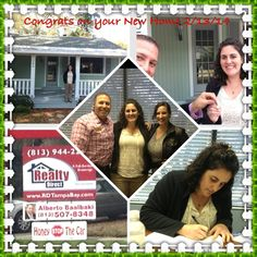 Congrats to my client on her closing of home in Seminole Heights (Tampa FL)