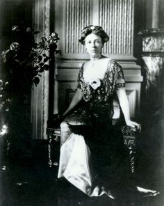 This photograph is of Helen Herron Taft, wife of William Howard Taft, the twenty-seventh president of the United States. c. 1910