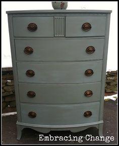 Embracing Change: Daper Antique Dresser: The Makeover