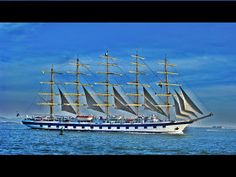Cosas únicas : Royal Clipper, El mayor velero del mundo Royal Clipper, Sailing Ships, Boat, World, Boats, Sailing Boat, Merchant Navy, Quotation, Woman