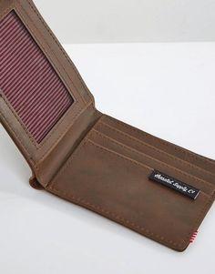 Herschel Supply Co Hank Leather RFID - Brown