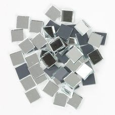 Rectangle Mirror Tiles Row 2 inch x 1 inch - Kit Kraft Mirror Tiles, Glass Mosaic Tiles, Mosaic Art, Wall Tiles, Architectural Scale, Local Hardware Store, Adhesive Tiles, Bottle Crafts, Colored Glass