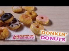 Easy; Dunkin' Donuts Inspired - Polymer Clay Tutorial - YouTube