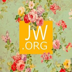 Jw. Org flowers logo beautiful
