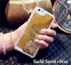 Liquid Glitter Sand Fluorescent Case Cover for iPhone