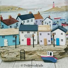 SALTY TIDES driftwood artwork