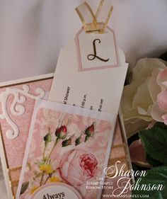 No Time To Stamp Victorian Tea Party Bridal Shower