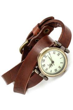 Wrap Around Genuine Leather Watch | only 39.99!!!!