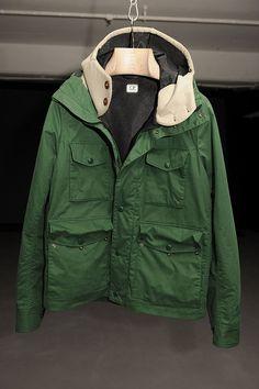 C.P. Company AW13 #LondonCollections Duffle Coat, London Fashion, Vests, Gentleman, Military Jacket, Streetwear, Rain Jacket, Windbreaker, Winter Jackets