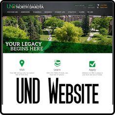 Button - UND Website