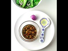 Easy Balsamic Vinaigrette Dressing, this is so simple, you probably already have these ingredients on hand! | Tastefulventure.com