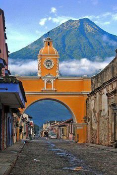 Antigua in Pictures - After this there is no doubt about the need to experience Guatemala! A comprehensive guide to backpacking Guatemala on a budget with tips on how to save money, cheap places to eat, top things to do, and so much more. Tikal, Places Around The World, Oh The Places You'll Go, Places To Travel, Places To Visit, Travel Destinations, Honduras, Belize, Central America