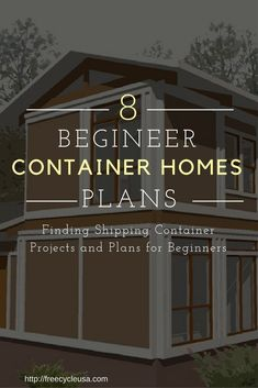 What to Consider Before Building a Shipping Container Home Building Sustainable Homes with Shipping Containers The Shipping Container Home Guide freecycleusa containerhome shippingcontainer Small Shipping Containers, Cargo Container Homes, Shipping Container Home Designs, Building A Container Home, Storage Container Homes, Container Buildings, Container House Design, Tiny House Design, Shipping Container Conversions
