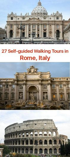 The eternal city of Rome has seen the rise and fall of many civilizations. Christian Saints, historic figures of the past and present have walked the Roman streets. Historic locations, great pieces of architecture and places of interest are practically on every corner. There are cities and there is Rome. And Rome has it all.