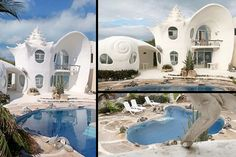 21 Best Seashell House Images Organic Architecture Shells - Conch-shell-house
