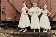 Vintage Inspired Wedding Dresses { Charming, Classic, Chic } ~ The Bridal District {of Southern California}
